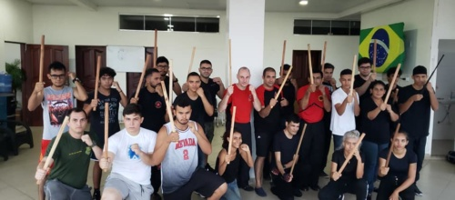 Stick & Knife Basic Defense Seminar in Macapa