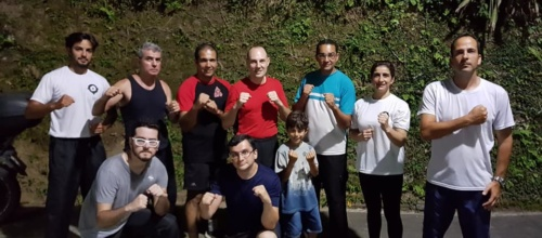 Stock & Messer Basic Defense Seminar in Petropolis