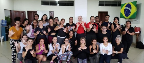 Women self-defense seminar in Macapa
